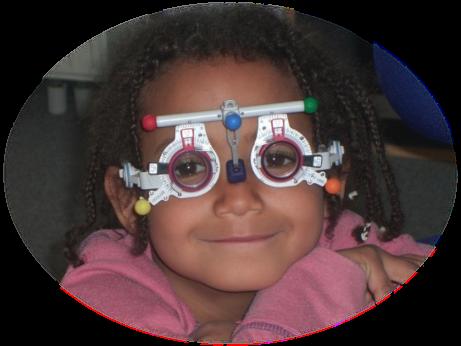 Korrigierende Brillengläser für die Ferne
